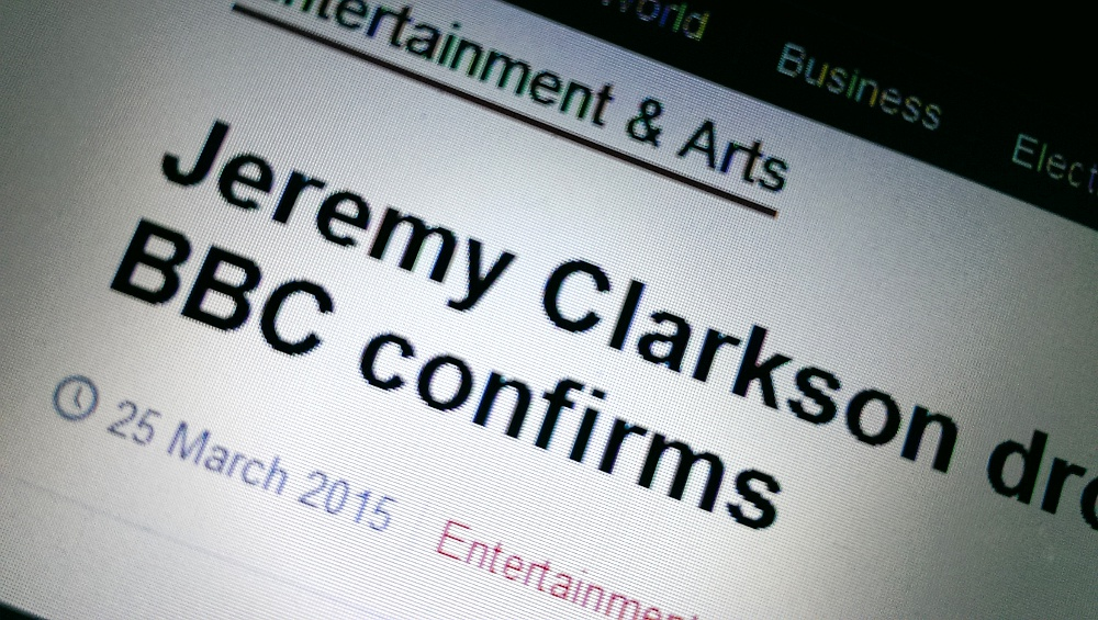 Jeremy Clarkson sacked