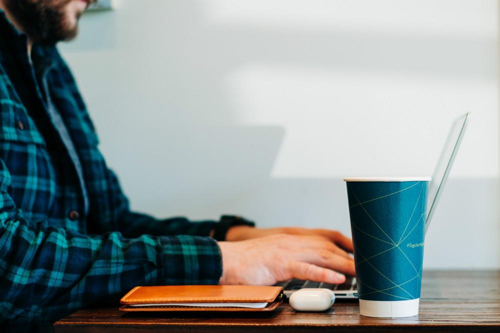 Man using laptop, Going Freelance: Building Work Around Your Life, Going Freelance, freelance, freelancer, self-employed, solopreneur